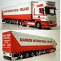 Wsi Scania R Topline 4x2 Curtain Side Trailer 3 Axle 1:50