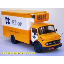 Coleção Caminhões Brasileiros Mercedes L1113 Kibon