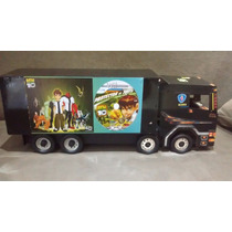 Caminhão De Brinquedo De Madeira Truck (4 Eixos) * (90cm)