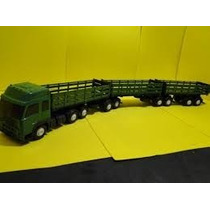 Super Caminhão Carreta Bitrem Tritrem Brinquedo 9 Eixos
