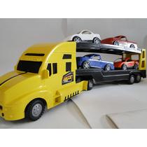 Caminhão Carreta Cegonha 54cm X 11cm X 14cm