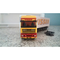 Miniatura Carreta Daf Xf 95 Visser Awm 1/87