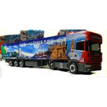Espetacular Caminhão Scania 164l 480 Furgão Ho 1:87 Herpa