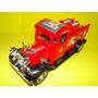 Caminhão Bombeiro Vermelho Antigo Vintage Retro