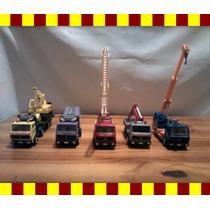Miniatura Conjunto De 05 Caminhões 1/32