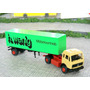 Caminhão Mercedes Benz Carreta Container Ho 1:87 Wiking