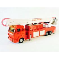 Miniatura De Caminhão Scania 128 Bombeiros Truck Line Maisto