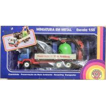 Raridade: Miniatura Em Metal Caminhão Brinquedos Rei - Novo