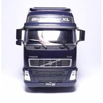 Caminhão Em Miniatura Welly Volvo Ph12 Roxo 1/32 Metal