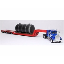 Min Kenworth W925 With Low Loader And Boiler Load 1:50 Corgi