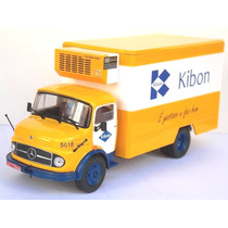 Miniatura Caminhão Mercedes Benz 1113 Kibon - Escala 1/43