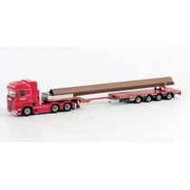 Miniatura Caminhao Scania R6 Highline 6x4 1:50 Wsi Models