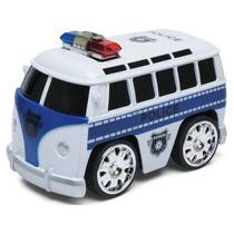 Mini Kombi - Viaturas De Polícia - Controle Remoto - Dtc