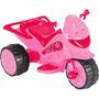 Moto Elétrica Infantil Menina Brink+ Pink Star Rosa