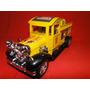 Antigo Caminhão Amarelo Bombeiro Comp.29cm Larg.9,5cm Retro