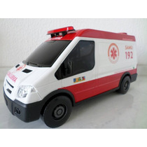 Ambulância Do Samu 192- Serviço Atendimento Móvel Urgência