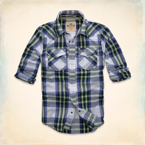 Camisa Abercrombie Fitch E Hollister Social Esporte Flanela