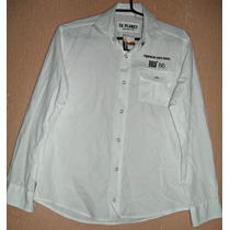 Camisa Feminina Branca Algodão - Tam-p = 90 Cm Busto