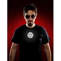 Camisa Guns N´ Roses, Iron Man, Kiss, Brilha No Escuro !