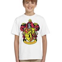 Camisa Infantil Harry Potter Grifinória
