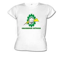 Camiseta Baby Look Curso Engenharia Elétrica