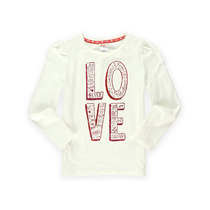 Gymboree Meninas Palavras De Amor Adornadas T-shirt