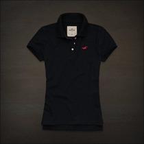 Camisa Polo Hollister Feminina - Original