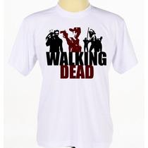 Camisa Estampada The Walking Dead Serie Seriado