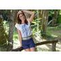 Camisa De Laise Delicada - Frete Grátis - Marca Belle & Bei
