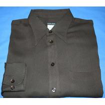 Camisa Social Giorgio Armani Black Label Tam. 39 Original