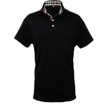 Camisa Polo Slim Fit Royal Preta