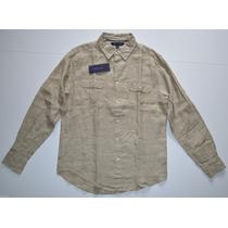 Camisa Social Tommy Hilfiger Tamanho G L Original Promoção