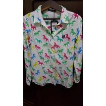 Camisa Polo Wear - Cavalos