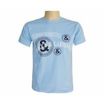 Camisa Dolce & Gabbana Azul Bebê
