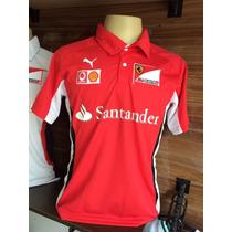 Camisa Polo Puma Ferrari F1 Team Frt.gratis S/juros P.entreg