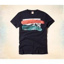 Camiseta Hollister Surf Graphic Original