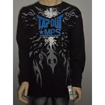 Camisa Tapout - Hollister - Tamanho G Tribal