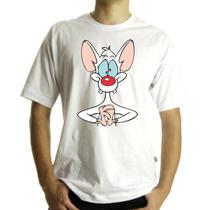 Camiseta,baby Look,regata, Pinky Cerebro Adulto E Infantil