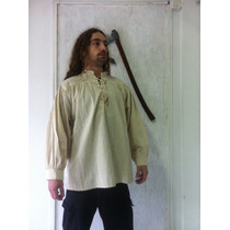 Camisa / Bata Medieval, Nórdica, Gótica, Indiana (importado)