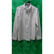 Camisa Feminina De Algodão Marca Hering Tm/ G