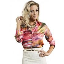 Camisa Despojada Feminina Principessa Karina