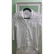 Abercrombie & Fitch Camisa Feminina Em Malhar C/ Botões