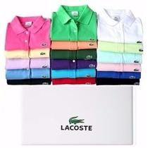 Kit Com 3 Camisetas Lacoste Masculino Frete Gratis Kit 3