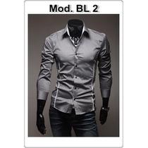 Camisa Social Slim Fit Importada +150 Modelos