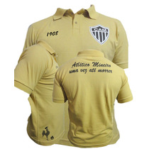 Camisa Pólo Do Atlético Mineiro Exclusiva