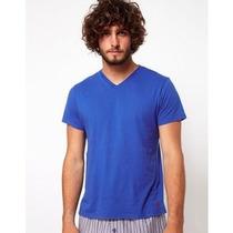 Ralph Lauren : Camisa Básica Masculina Gola V Tam G