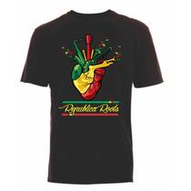 Camisa Masculina Reggae