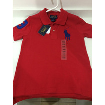 Camisa/blusa Gola Polo Infantil Ralph Lauren 3t Original