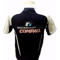 Camisa Bmw Willians F1 - Frete Grátis E Entrega Imediata
