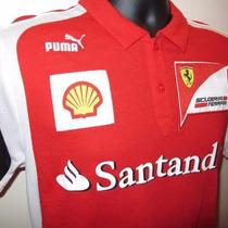 Camisa Polo Puma Ferrari - Frete Grátis - P.entrega